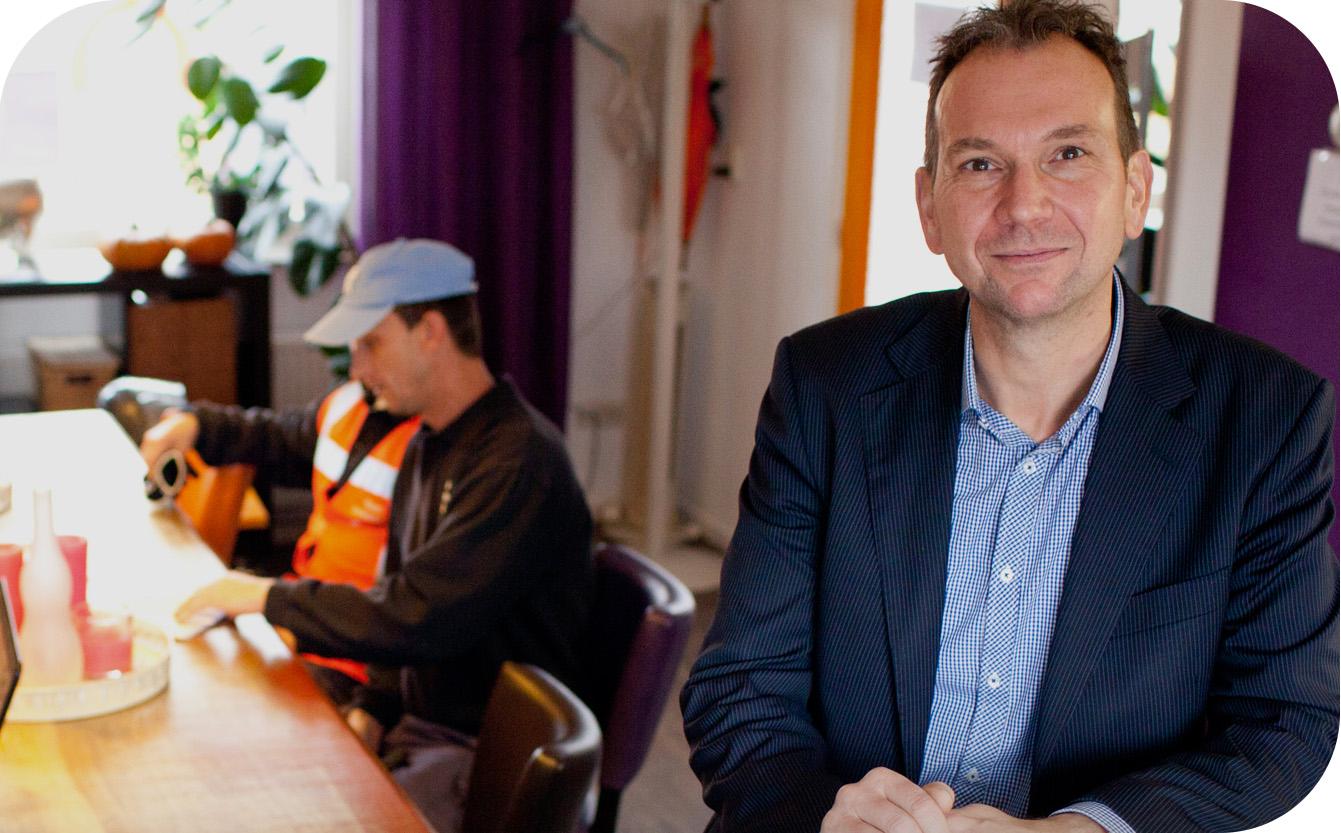 Foto Gerard Fidder, Natasja Salemink en Richard Brenkman