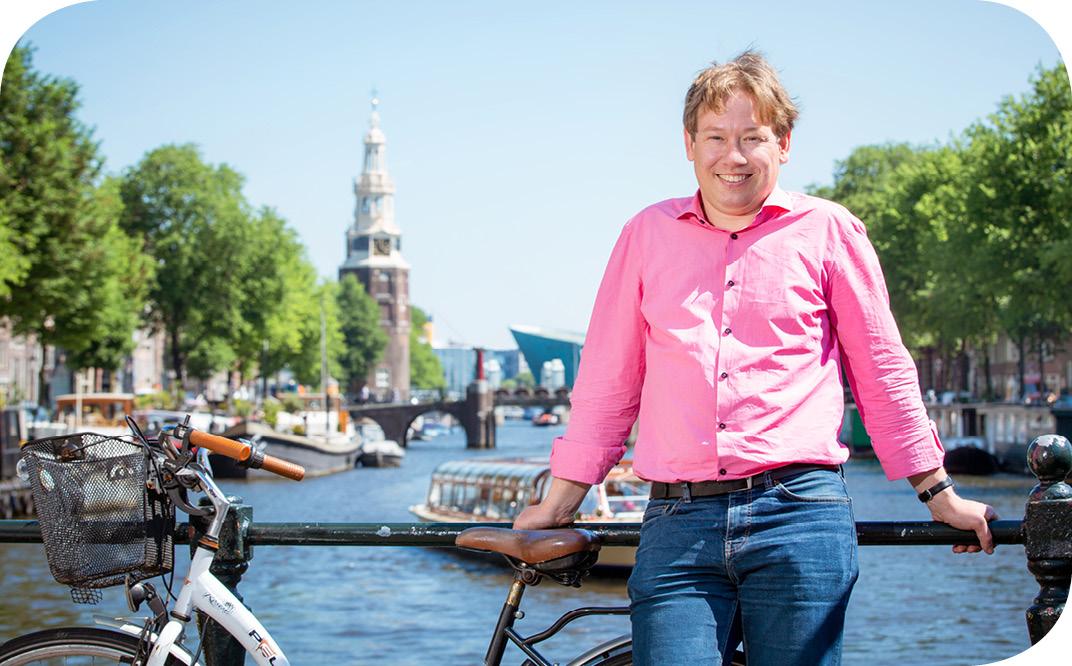 Ben Booij over DE ZELFREDZAAMHEID-mATRIX IN AMSTERDAM