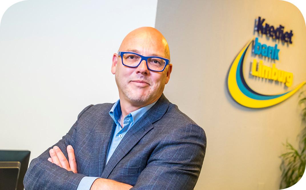 Ruud van den Tillaar van de Kredietbank Limburg